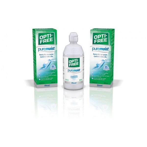 OPTI-FREE PureMoist 300 ml με θήκη